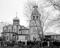 Свято-Георгиевский собор в Кизляре, где произошла трагедия (фото: Елена Афонина/ТАСС)