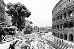 В Евросоюзе наступили сибирские морозы. Снегом занесен Рим (на фото), Неаполь, Лазурный Берег и пол-Испании. Низкую температуру принес арктический циклон. Отрицательная температура продержится как минимум до конца недели (фото: Michele Spatari/Zuma/Global Look Press)
