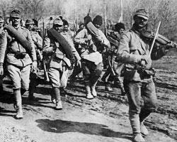 Румынские войска в Молдавии (фото: Public domain)