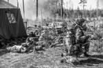 Как известно, в Латвии формируется боевая группа НАТО под руководством Канады. В ее состав входит более 1000 военнослужащих (фото: Ints Kalnins/Reuters)