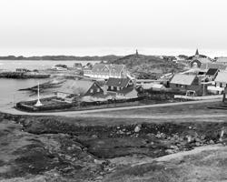 Вид на Нуук - столицу Гренландии (фото: Alister Doyle/Reuters)