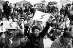К встрече лидеров КНДР и Республики Корея было приковано внимание всех жителей Корейского полуострова (фото: Kim Hong-ji/Reuters)