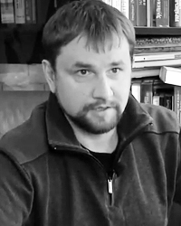 Директор Украинского института национальной памяти Владимир Вятрович (фото: кадр канала «Апостроф»)