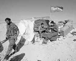 Бойцы иранского отряда