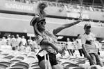 Благодаря чемпионату мира мы смогли увидеть не только красивый футбол, но и прекрасных болельщиц, приехавших со всего мира поддержать свои любимые команды. Самые яркие из них - на страницах газеты ВЗГЛЯД (фото: Darren Staples/Reuters)
