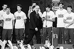 Главным достижением российской сборной на домашнем чемпионате мира по футболу стало единение игроков со всей страной, заявил главный тренер команды Станислав Черчесов (фото: Александр Рюмин/ТАСС)