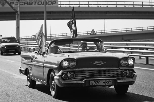 Все машины, как ожидается, поднимутся на плато Ай-Петри, где 14–15 июля пройдут основные мероприятия фестиваля