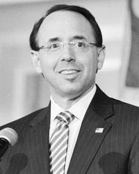 Заместитель генерального прокурора США Род Розенштайн (фото: Bastiaan Slabbers/Zuma/Global Look Press)