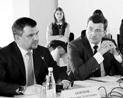 Вице-премьер Акимов и и.о. губернатора Нижегородской области Никитин (фото: government-nnov.ru)