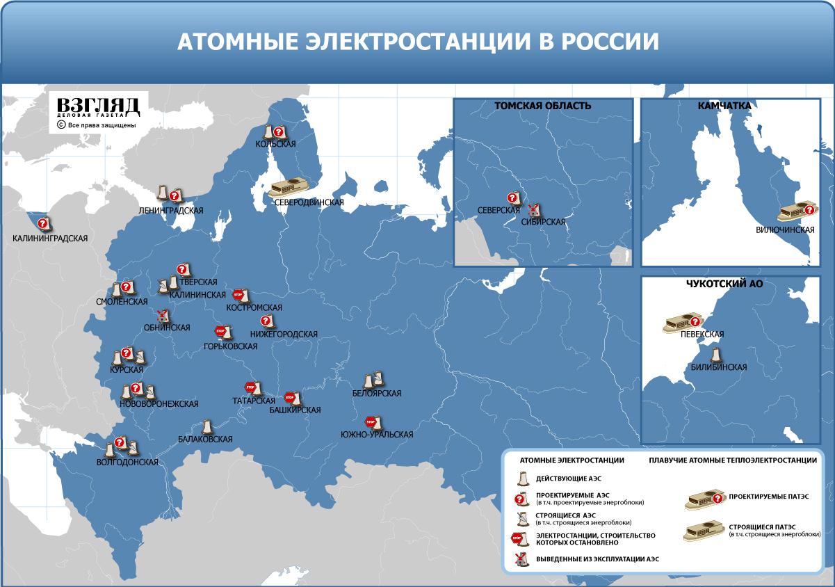 Все АЭС России оборудовали по постфукусимским стандартам безопасности.