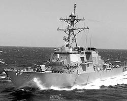 На сегодня корабли «Арли Берк» построены в количестве 55 единиц для ВМФ США (фото: seafever.com)