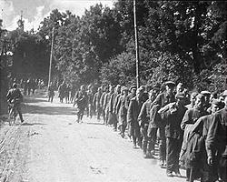 В июне 1941 года в действующей армии числились 3 334 000 человек, в конце 1941 года – 2 818 000 (фото: www2incolor.com)