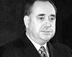 Первый министр Шотландии и лидер Шотландской национальной партии Алекс Салмонд (фото: wikimedia.org)