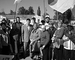 Мельниченко много ездит по Украине, убеждая избирателей поднять восстание (фото: melnychenko.com.ua)