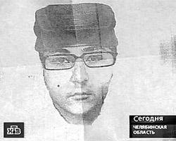 Фоторобот одного из убийц был составлен со слов свидетелей (фото: кадр телеканала НТВ)
