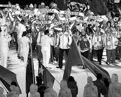 В Ванкувере российская команда потерпела небывалое, блистательное поражение (фото: ИТАР-ТАСС)