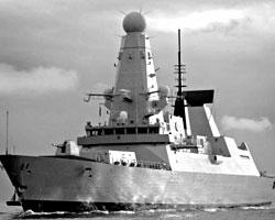 Эскадренный миноносец типа 45 ВМС Великобритании (нажмите, чтобы увеличить; фото: wikipedia.org)