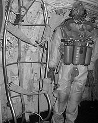 Подводная романтика в музее – на каждом шагу