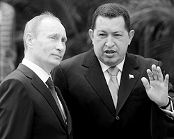 Козыри, которые Россия зарабатывает у Чавеса, могут работать против отношений с США (фото ИТАР-ТАСС)