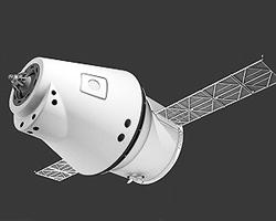 Эскизный проект перспективного космического корабля многоразового  использования «Русь» (нажмите, чтобы увеличить; фото:  nauka21vek.ru)