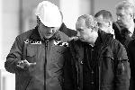 Владимир Путин и председатель правления ОАО «РусГидро» Евгений Дод (фото: ИТАР-ТАСС)