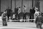 Место взрыва оцеплено, большое число жертв объясняется тем, что бомба была разрывной
