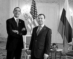 Ожидается, что Дмитрий  Медведев и Барак Обама обсудят ряд острых вопросов (фото: Эвелина  Гигуль/ВЗГЛЯД)