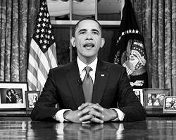 Объявив об «окончании войны» Обама сказал, что «Соединенные Штаты заплатили огромную цену за то, чтобы народ Ирака смог взять будущее страны в свои руки». (фото: Reuters)