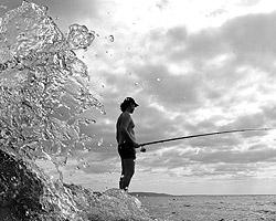 Рынок любительского рыболовства в США имеет  многомиллионную аудиторию, в России по ряду причин он микроскопически  мал (фото: ИТАР-ТАСС)