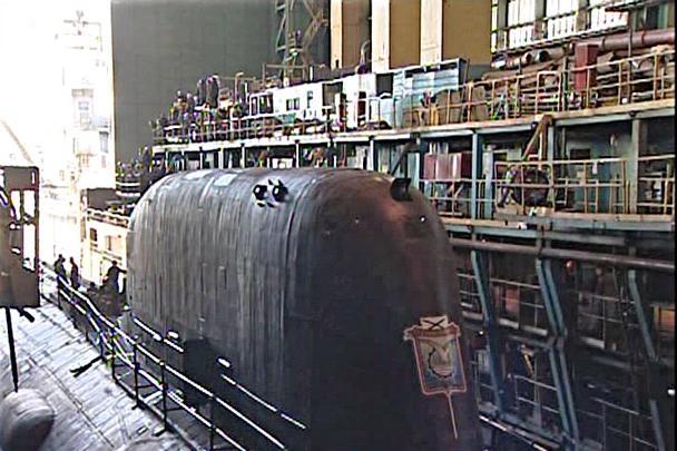 первая атомная подводная лодка северодвинск