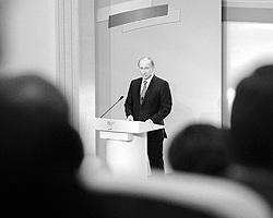 Формальному лидерству Путина в «Единой  России» исполняется три года (фото:  ИТАР-ТАСС)
