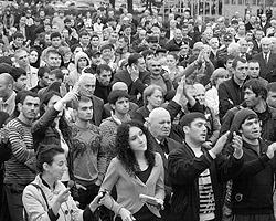О росте протестных  настроений и общественного самосознания не говорит сегодня только немой  (фото: ИТАР-ТАСС)