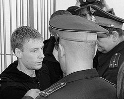 Егор Бычков – не бандит и не мафиози. Никто не станет мстить прокурору за то, что она требовала для него двенадцать лет строгача (фото: РИА