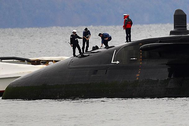 ситуации с подводными лодками