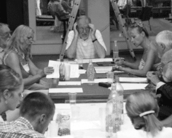 Репетиция «Чайки»: прибалтийские актеры вживаются в роли