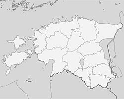 Карта  Эстонии (Фото: wikipedia.org/NordNordWest)