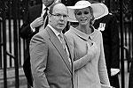 На церемонии бракосочетания принца Уильяма и Кейт Миддлтон присутствовала княжеская чета Монако (фото: Reuters)