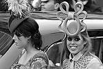 Принцесса Беатрис и ее сестра принцесса Евгения прибыли в Вестминстерское аббатство (фото: Reuters)