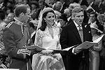 Принц Уильям, Кейт Миддлтон и ее отец Майкл Фрэнсис Миддлтон (фото: Reuters)