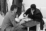Президент ФИДЕ Кирсан Илюмжинов сообщил, что его встреча с Муамаром Каддафи прошла в одном из зданий Олимпийского комитета, где находится шахматная федерация Ливии (фото: )