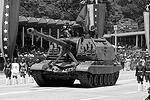 Венесуэльские ВС представили на юбилейном параде поступившие в последнее время на их вооружение многочисленные образцы российской военной техники, в том числе танки Т-72 последних модификаций (фото: Reuters)