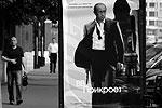 На улицах Москвы появились плакаты с человеком, похожим на премьер-министра Владимира Путина. Рекламные объявления стилизованы под афишу фильма о секретном агенте Джеймсе Бонде и призывают посетить сайт некой квест-игры (фото: Reuters)