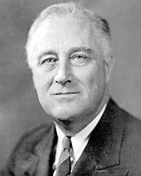 В 1940-х годах, защищая колониальные интересы Великобритании, Ф. Рузвельт потребовал ухода Японии из Китая