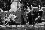 В числе организаторов акции съемочная группа кинофильма «Август Восьмого», посвященного трагическим событиям  (фото: ИТАР-ТАСС)