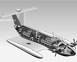 Проект морского пассажирского экраноплана