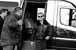 По окончании учений президент России отправился на совещание  с руководящим составом соединений и частей Минобороны, МВД и ФСКН, участвовавших в «операции» (фото: ИТАР-ТАСС)