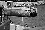 Подготовка к прокладке труб газопровода по дну Балтийского моря в рамках реализации проекта «Северный поток» (фото: ИТАР-ТАСС)