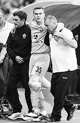 Игорь Акинфеев (в центре) наверняка не  простил Веллитону своей травмы (фото: ИТАР-ТАСС)