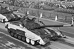 Российские танки Т-72, производимые Индией по лицензии и носящие название Ajeya (фото: Reuters)