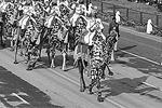 Во время парада по улицам проедут на верблюдах одетые в парадную форму пограничники (фото: Reuters)